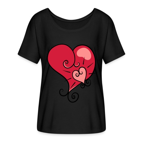 The world's most important. - Women's Batwing-Sleeve T-Shirt by Bella + Canvas
