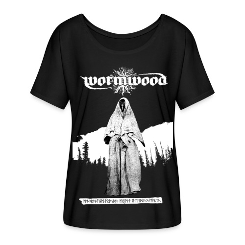 Women's Witch Print - Women's Batwing-Sleeve T-Shirt by Bella + Canvas