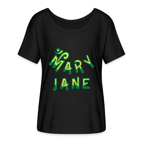 Mary Jane - Women's Batwing-Sleeve T-Shirt by Bella + Canvas