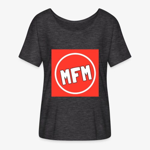 MrFootballManager Clothing - Women's Batwing-Sleeve T-Shirt by Bella + Canvas