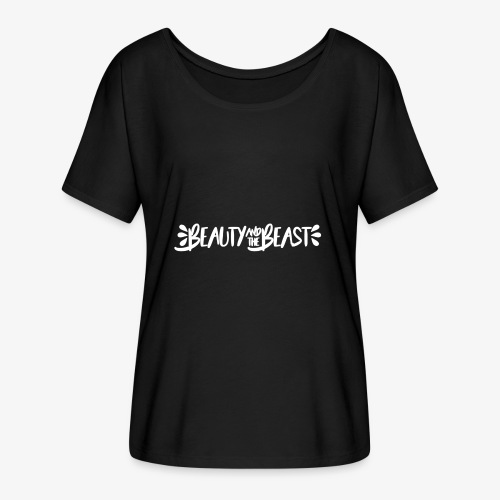 Beauty and the Beast - Women's Batwing-Sleeve T-Shirt by Bella + Canvas