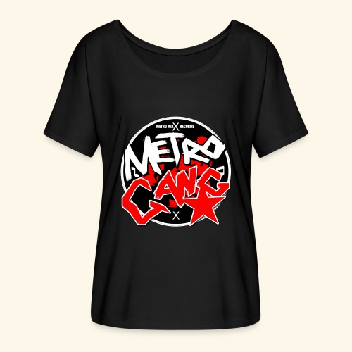 METRO GANG LIFESTYLE - Women's Batwing-Sleeve T-Shirt by Bella + Canvas