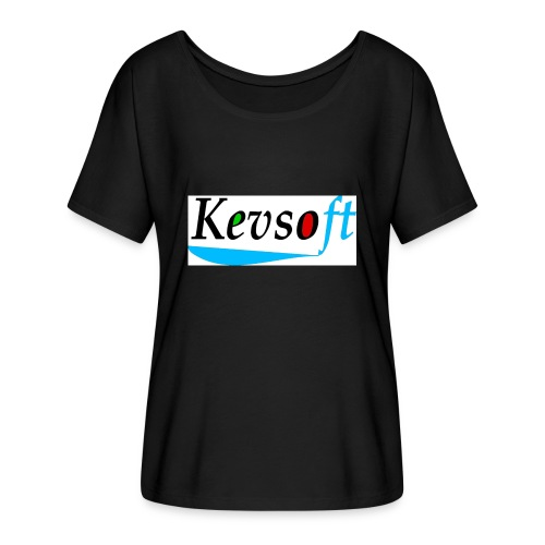 Kevsoft - Women's Batwing-Sleeve T-Shirt by Bella + Canvas