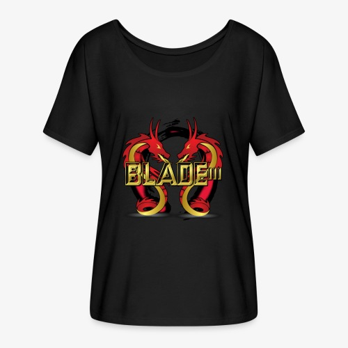 Blade - Women's Batwing-Sleeve T-Shirt by Bella + Canvas