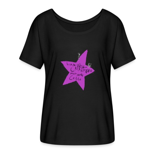 Needs More Cello - Women's Batwing-Sleeve T-Shirt by Bella + Canvas