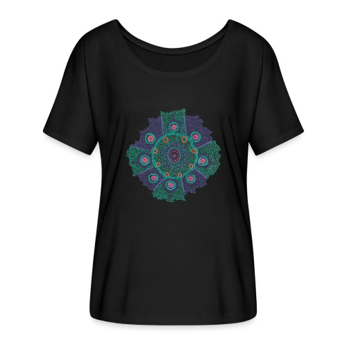 Tribe - Women's Batwing-Sleeve T-Shirt by Bella + Canvas