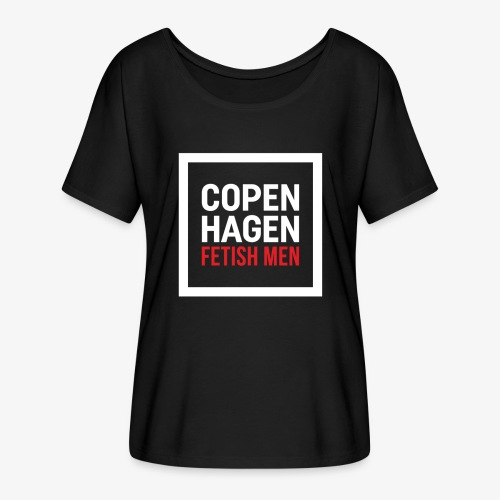 Copenhagen Fetish Men Jacket - Dame T-shirt med flagermusærmer fra Bella + Canvas
