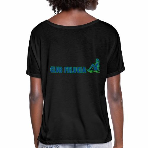Madame's_Girls - Women's Batwing-Sleeve T-Shirt by Bella + Canvas
