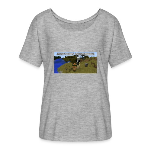 minecraft - Women's Batwing-Sleeve T-Shirt by Bella + Canvas