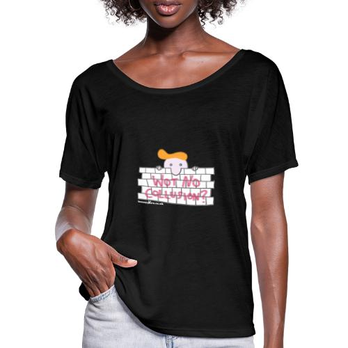 Trump's Wall - Women's Batwing-Sleeve T-Shirt by Bella + Canvas