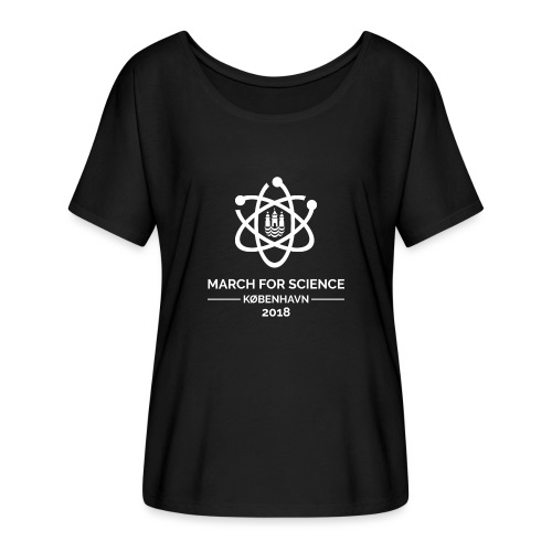 March for Science København 2018 - Women's Batwing-Sleeve T-Shirt by Bella + Canvas