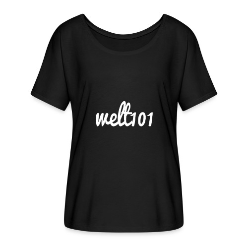 White Collection - Women's Batwing-Sleeve T-Shirt by Bella + Canvas