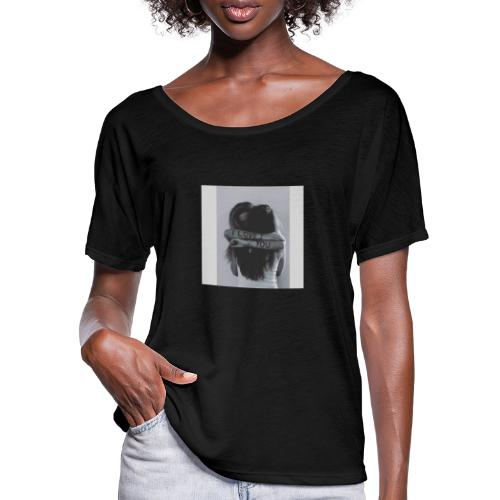 I LOVE YOU - Frauen T-Shirt mit Fledermausärmeln von Bella + Canvas