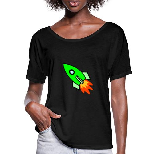 neon green - Women's Batwing-Sleeve T-Shirt by Bella + Canvas