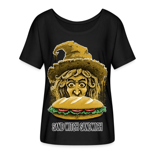 Sand Witch Sandwich V1 - Women's Batwing-Sleeve T-Shirt by Bella + Canvas