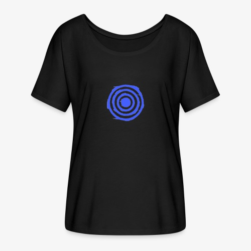 Shooting Target - Women's Batwing-Sleeve T-Shirt by Bella + Canvas