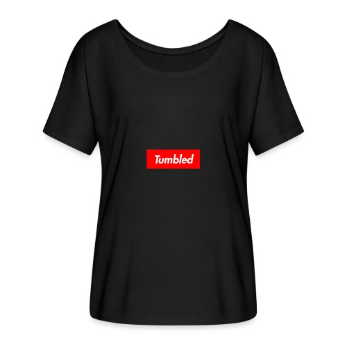Tumbled Official - Women's Batwing-Sleeve T-Shirt by Bella + Canvas