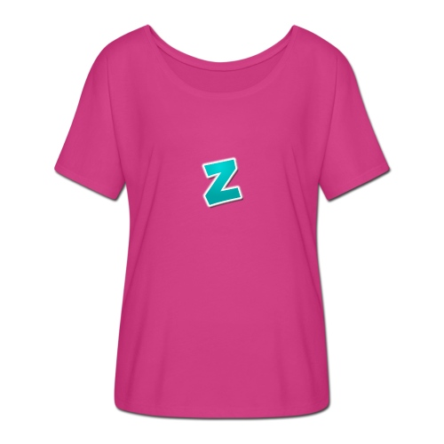 Z3RVO Logo! - Women's Batwing-Sleeve T-Shirt by Bella + Canvas