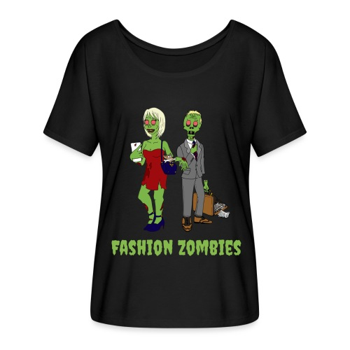 Fashion Zombie - Women's Batwing-Sleeve T-Shirt by Bella + Canvas