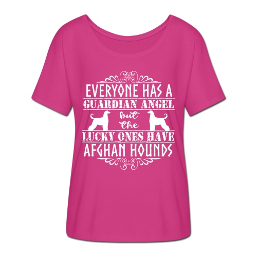 Afghan Hound Angels 2 - Women's Batwing-Sleeve T-Shirt by Bella + Canvas