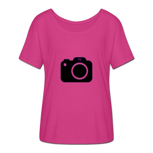 FM camera - Women's Batwing-Sleeve T-Shirt by Bella + Canvas