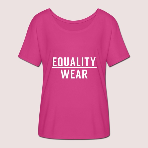 Equality Wear Official Pattern - Women's Batwing-Sleeve T-Shirt by Bella + Canvas