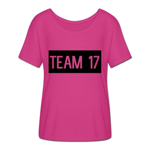 Team17 - Women's Batwing-Sleeve T-Shirt by Bella + Canvas