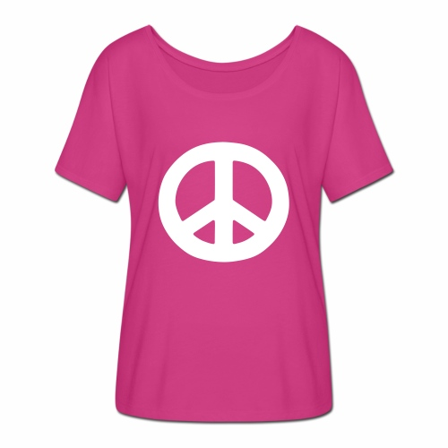 Peace - Women's Batwing-Sleeve T-Shirt by Bella + Canvas