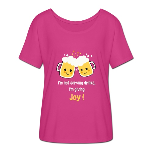 Giving Joy - Women's Batwing-Sleeve T-Shirt by Bella + Canvas