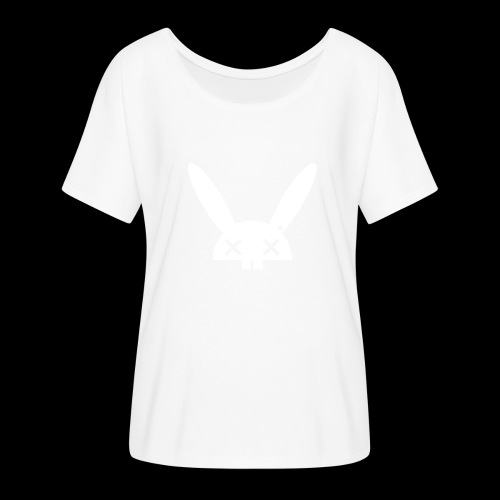 HARE5 LOGO TEE - Women's Batwing-Sleeve T-Shirt by Bella + Canvas