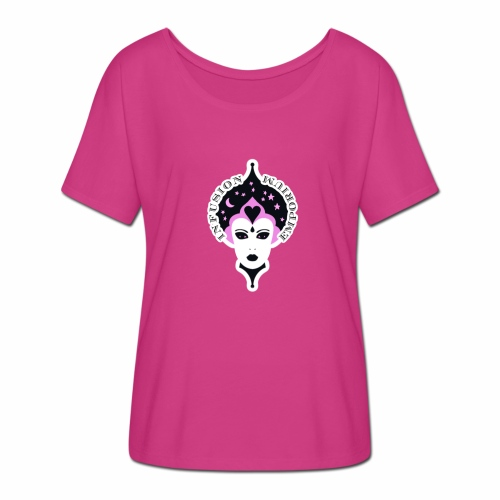 The Pink Oracle - Women's Batwing-Sleeve T-Shirt by Bella + Canvas