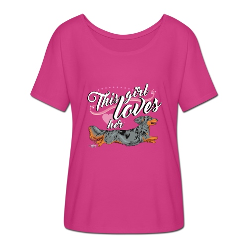 pitkisgirl - Women's Batwing-Sleeve T-Shirt by Bella + Canvas
