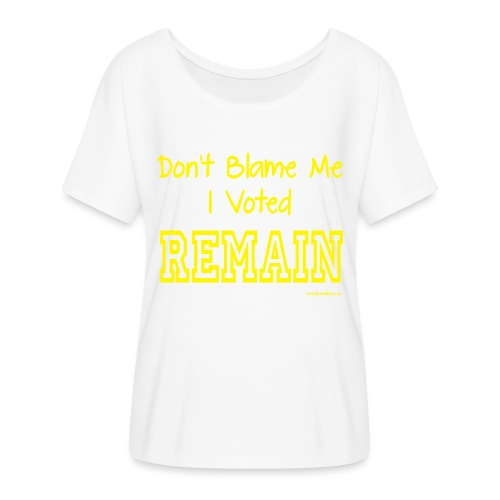 Dont Blame Me - Women's Batwing-Sleeve T-Shirt by Bella + Canvas