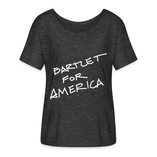 Bartlet For America - Women's Batwing-Sleeve T-Shirt by Bella + Canvas
