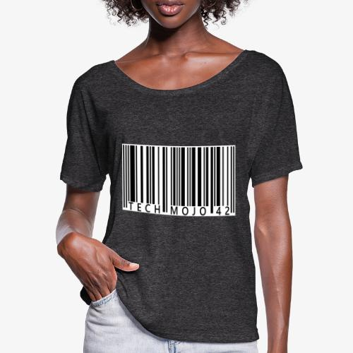 TM graphic Barcode Answer to the universe - Women's Batwing-Sleeve T-Shirt by Bella + Canvas