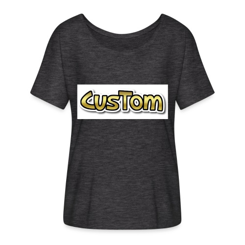 CusTom GOLD LIMETED EDITION - Casual vrouwen T-shirt van Bella + Canvas