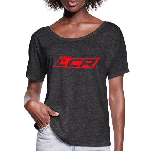 LCR Team Clothing - Women's Batwing-Sleeve T-Shirt by Bella + Canvas