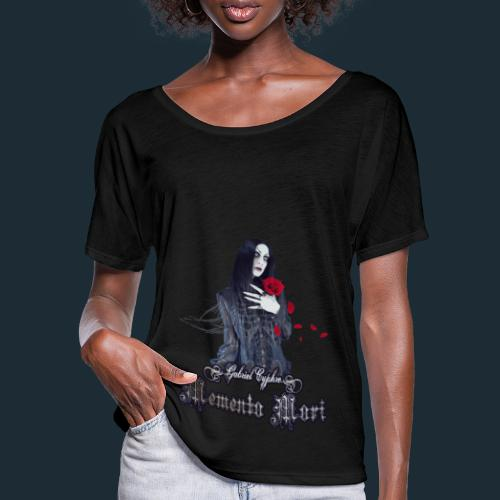 Memento Mori - Women's Batwing-Sleeve T-Shirt by Bella + Canvas