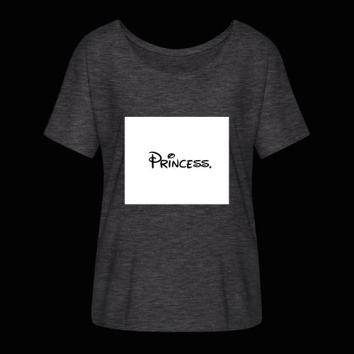 Princess. - Women's Batwing-Sleeve T-Shirt by Bella + Canvas