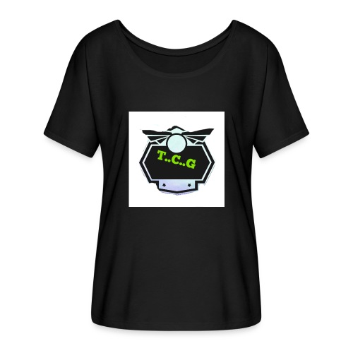 Cool gamer logo - Women's Batwing-Sleeve T-Shirt by Bella + Canvas