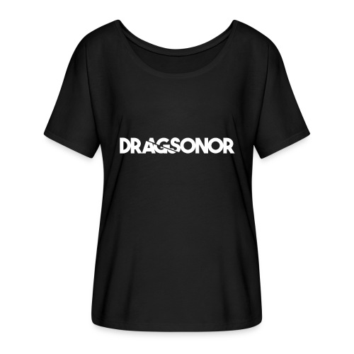 DRAGSONOR white - Women's Batwing-Sleeve T-Shirt by Bella + Canvas