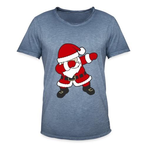 Dab Dabbing Trend Santa Claus Weihnachtsmann Logo - Männer Vintage T-Shirt