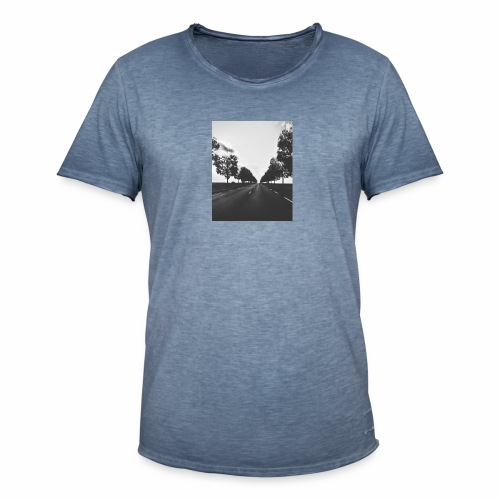 Road and trees - T-shirt vintage Homme