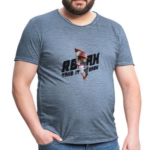 MK - T-shirt vintage Homme