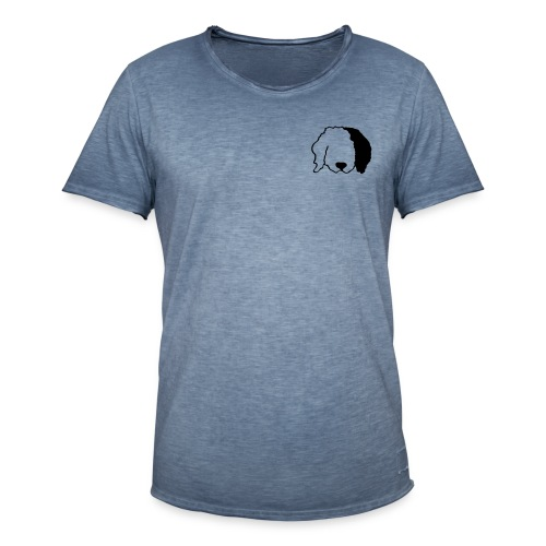 Shaggy Dog Coffee - Men's Vintage T-Shirt