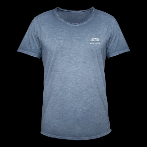 Addict-0 - T-shirt vintage Homme