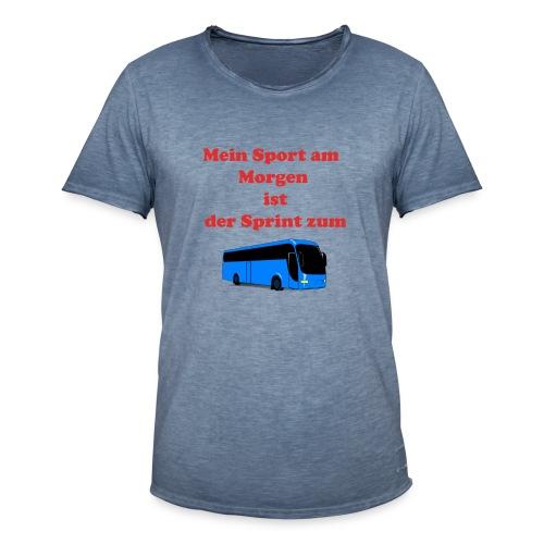 Faultier - Männer Vintage T-Shirt