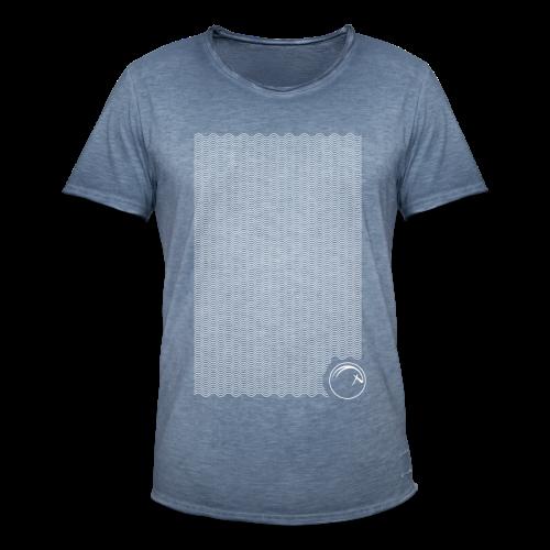 Ocean Oryx verticale Bianco - Maglietta vintage da uomo
