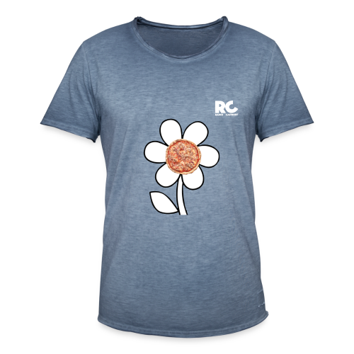 Pizzaflower Edition - Männer Vintage T-Shirt