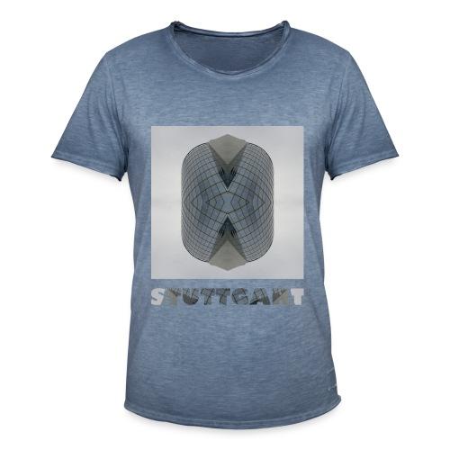 Stuttgart #1 - Männer Vintage T-Shirt